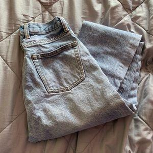 "brandy melville ""jane"" jeans"